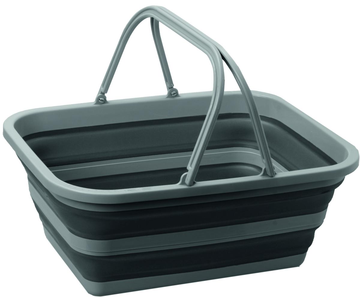 Brunner Waschschüssel Holdall grau/schwarz