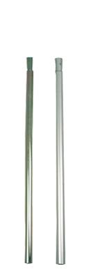 Gestänge-Zwischenstück Alu 80 cm, 22 mm