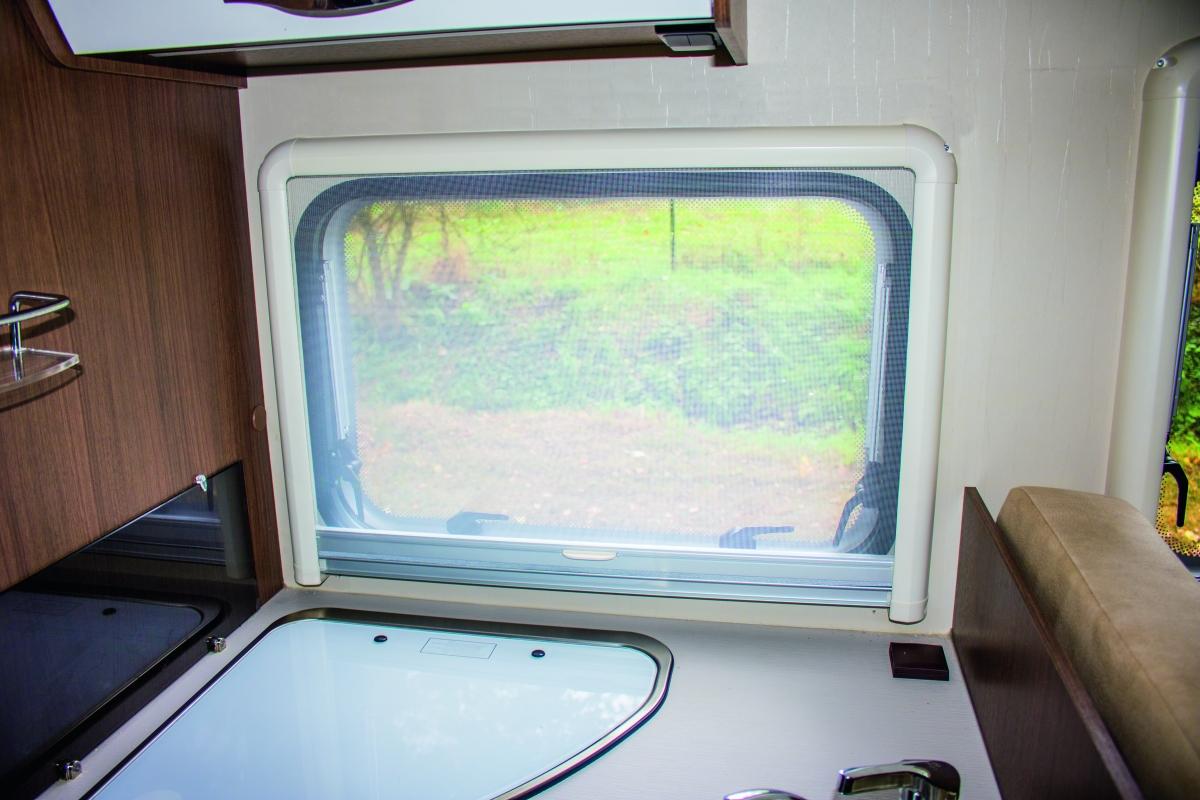 REMIflair IV Kombi-Plissee-Rollo für Alurahmenfenster, 700x500 mm