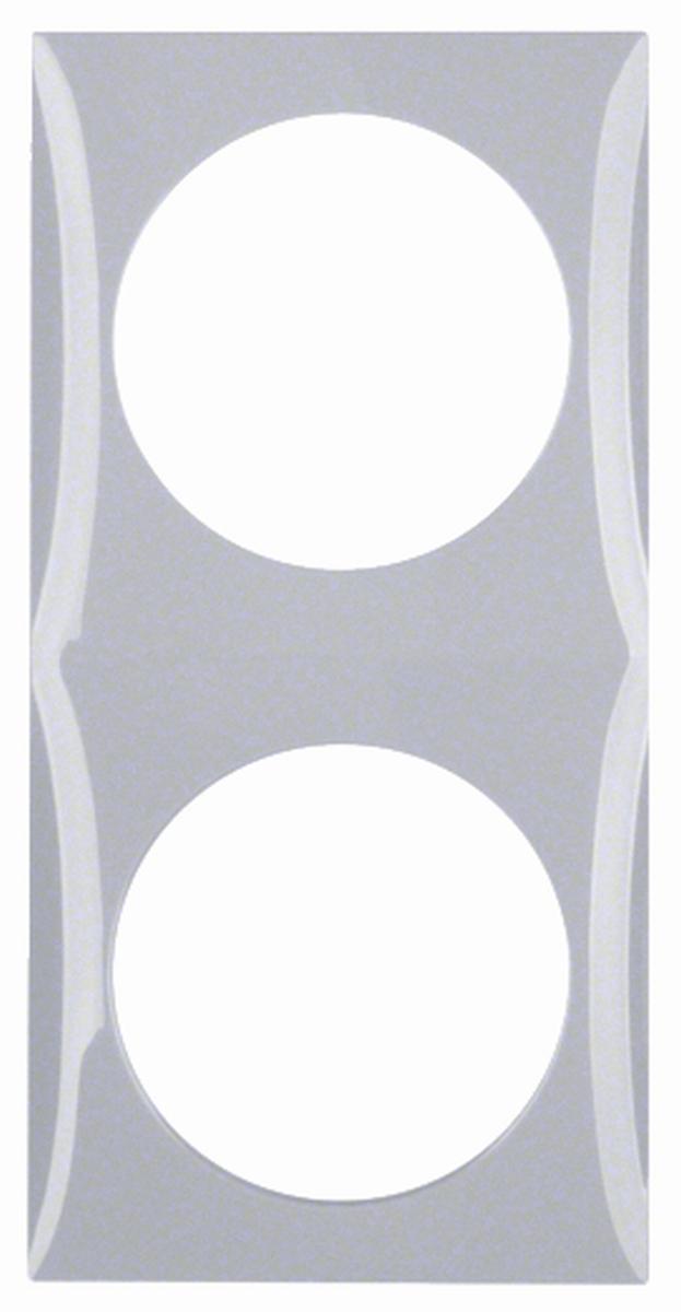 Berker Rahmen 2-fach INTEGRO grau