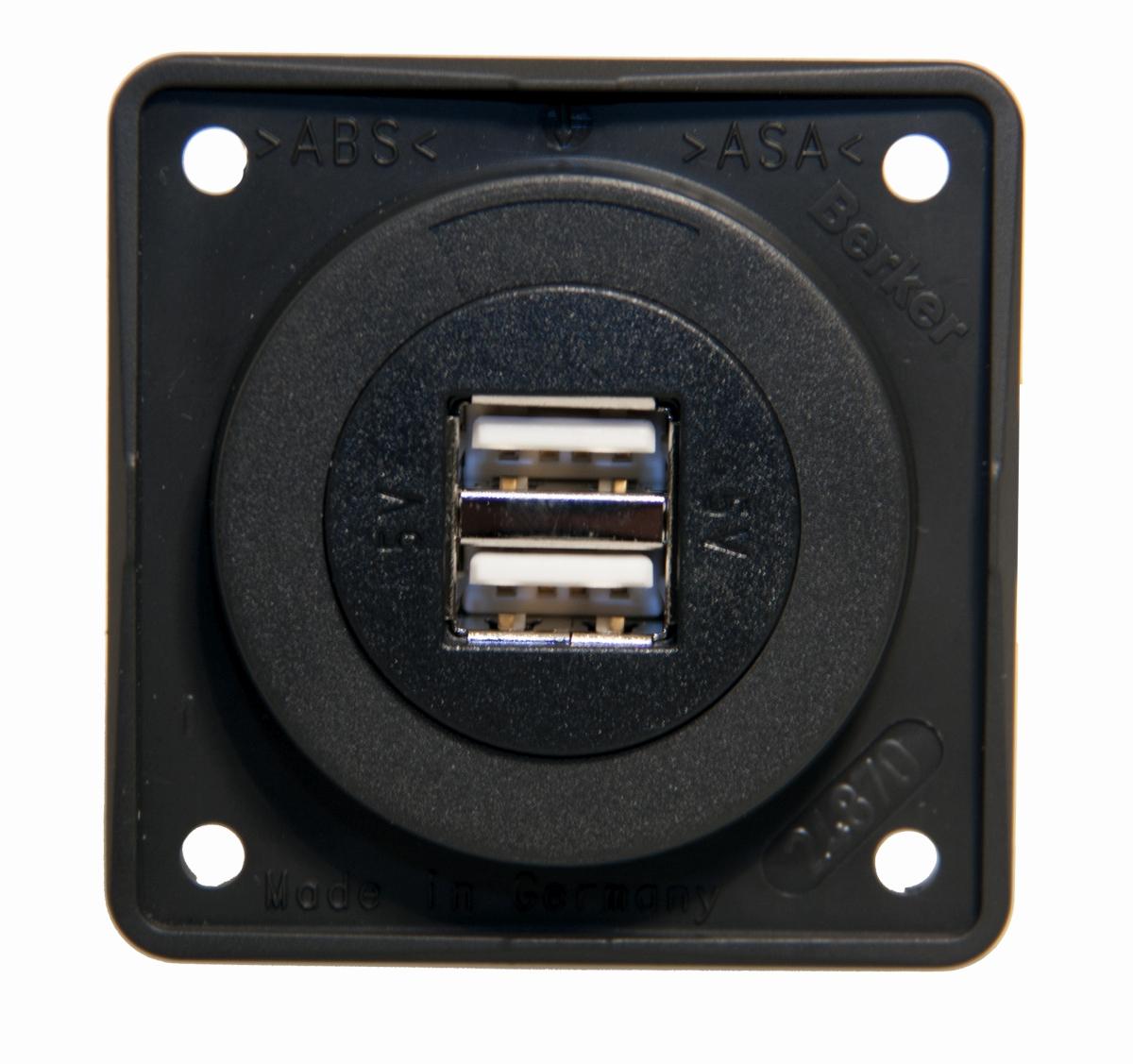 Berker USB-Ladesteckdose 2fach