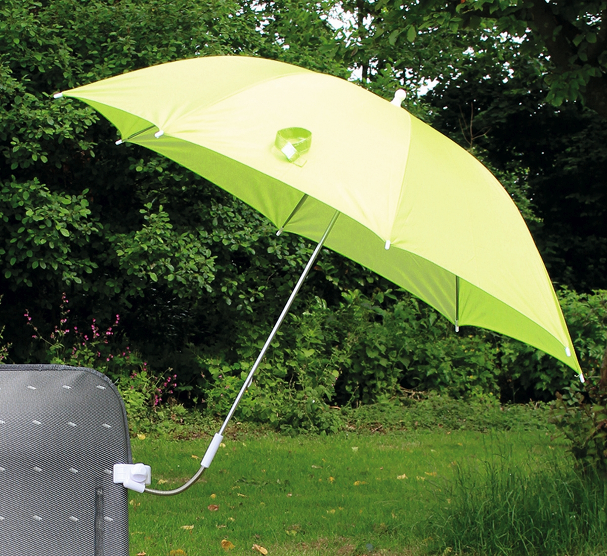Stuhl-Sonnenschirm grün