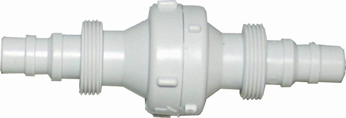 Rückschlagventil 10/12 mm mit Gewindetüllen