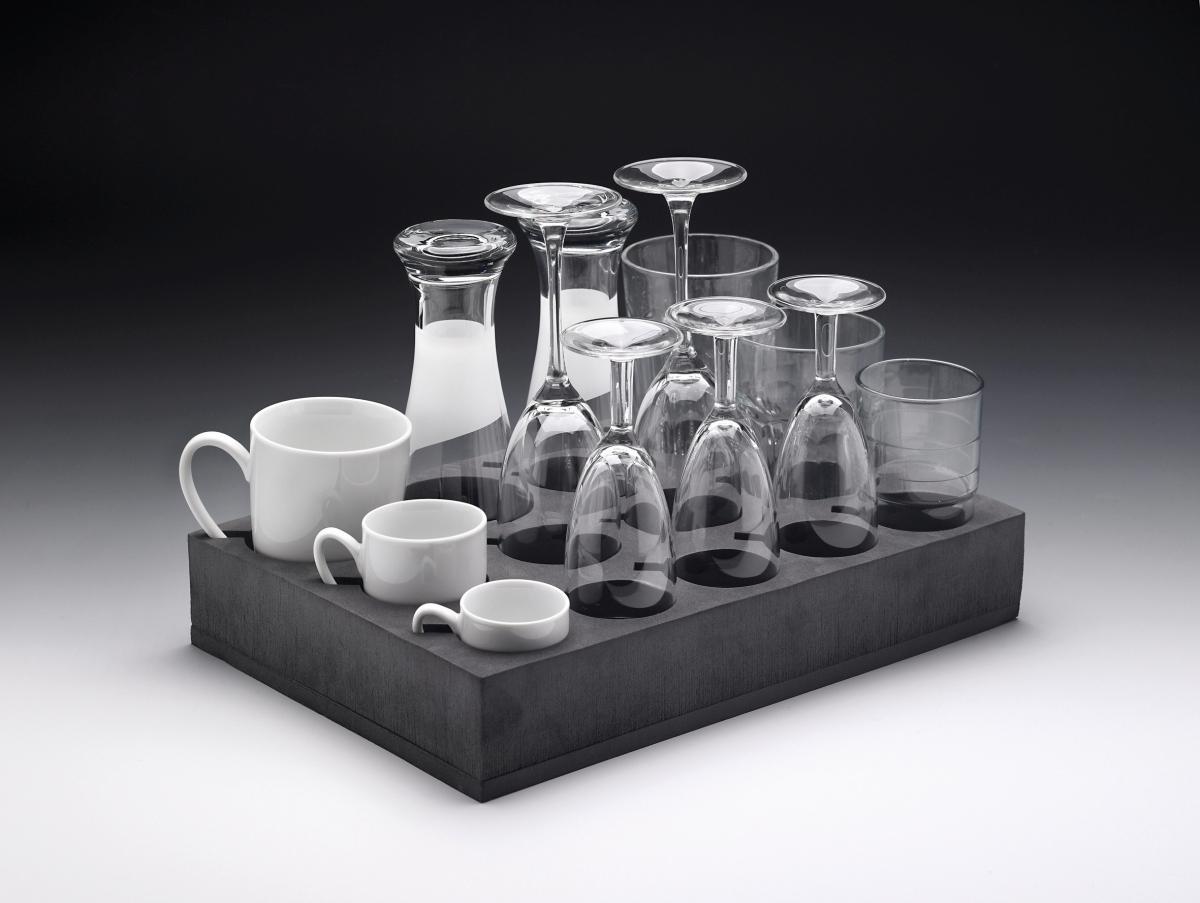 Glashalter Universal, 13 Tassen/Gläser