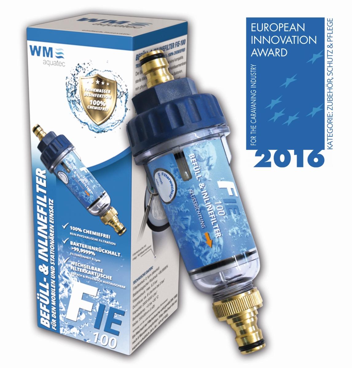 WM aquatec Befüll- und Inlinefilter FIE-100