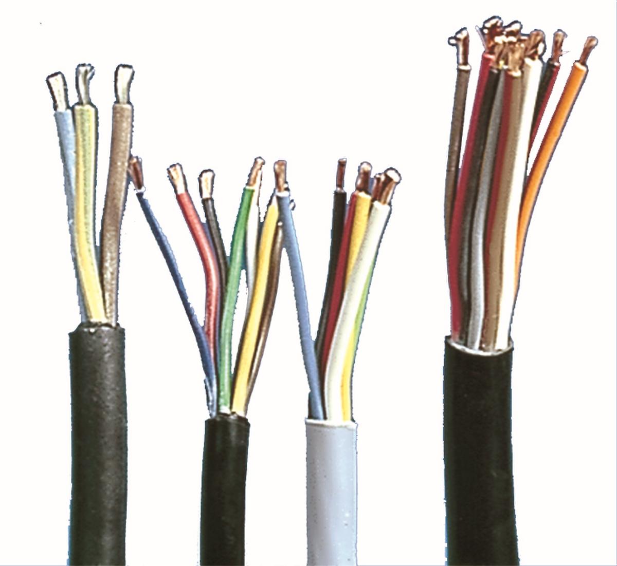 Elektrokabel 220 V 3x1,5,