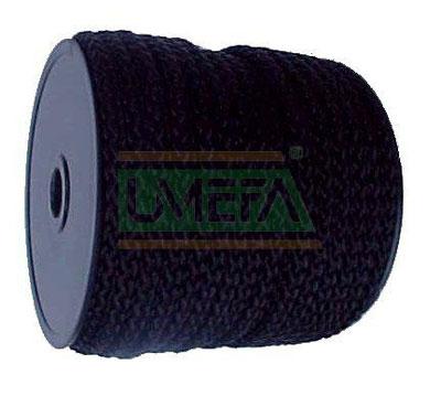 Sicherheits-Zeltleine schwarz, 3mm, 50 m