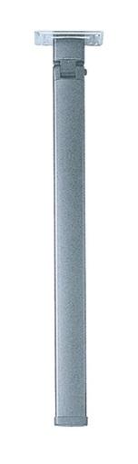 STAR-Alu-Klapp-Stützfuß silber