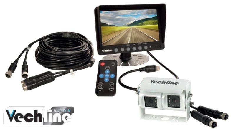 Vechline Rückfahr-Videosystem VISIO Dual