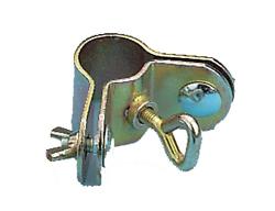 Eck-Rohrschellen 2-teilig, 22-25 mm 2er Pack