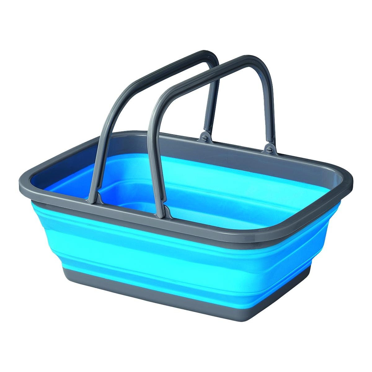 Brunner Faltbare Waschschüssel blau