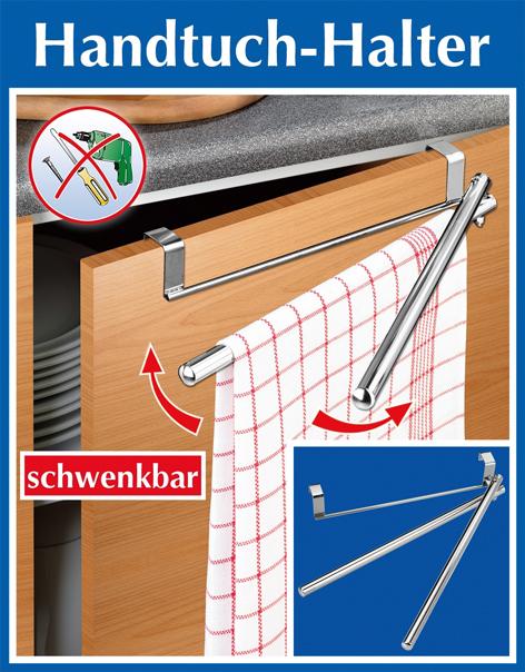 Tür-Handtuchhalter mit Schwenkarmen