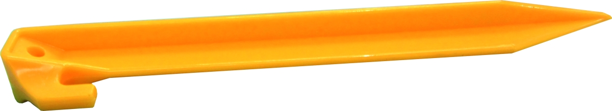 Kunststoff  Spezialhering gelb 22,5 cm 5er Pack