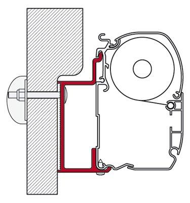 Fiamma Eura Mobil/Karmann Adapter
