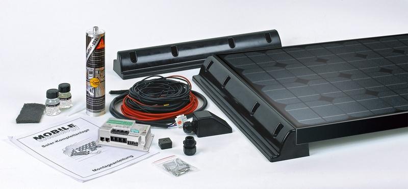 Büttner Solar-Komplettanlage Black Line