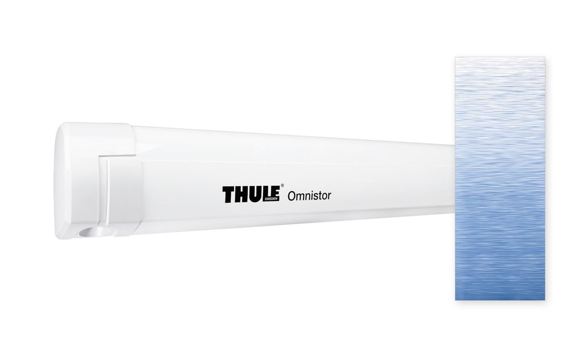 Thule Omnistor 5200 weiß 300x250 cm, Saphir Blau