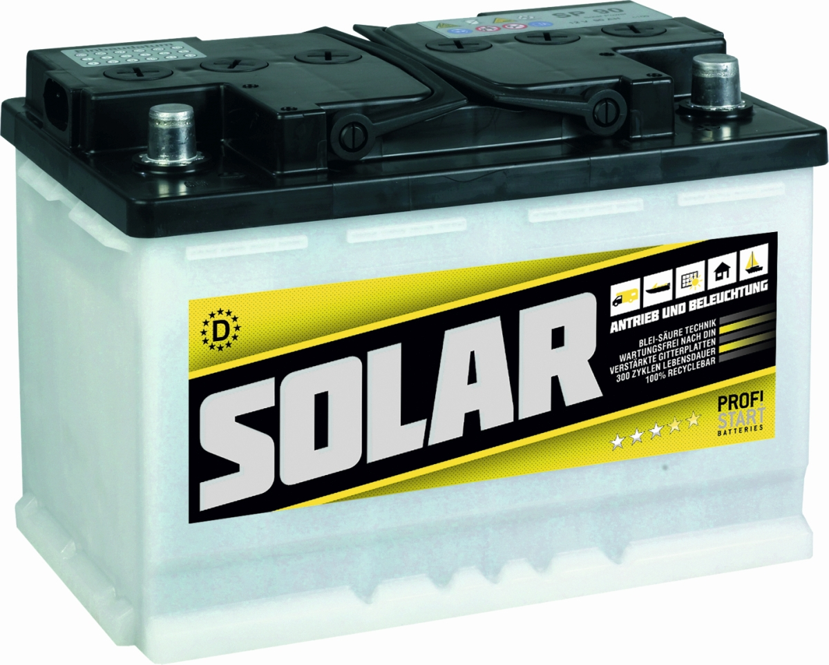 PROFI-START Solarbatterie TOP-HIT 90 Ah