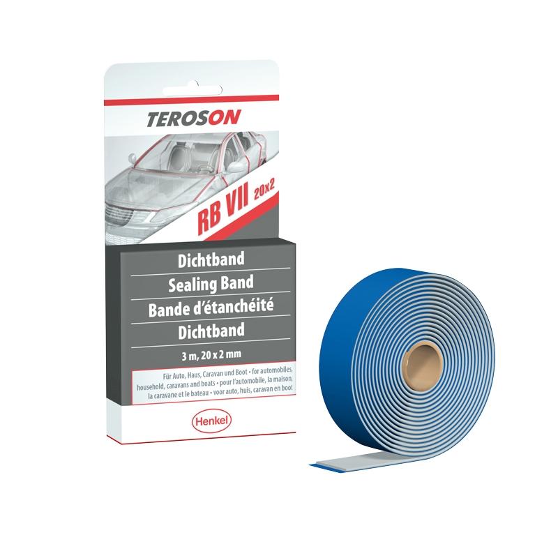 Henkel TEROSON RB VII 20 x 2 mm weiß, 40 m