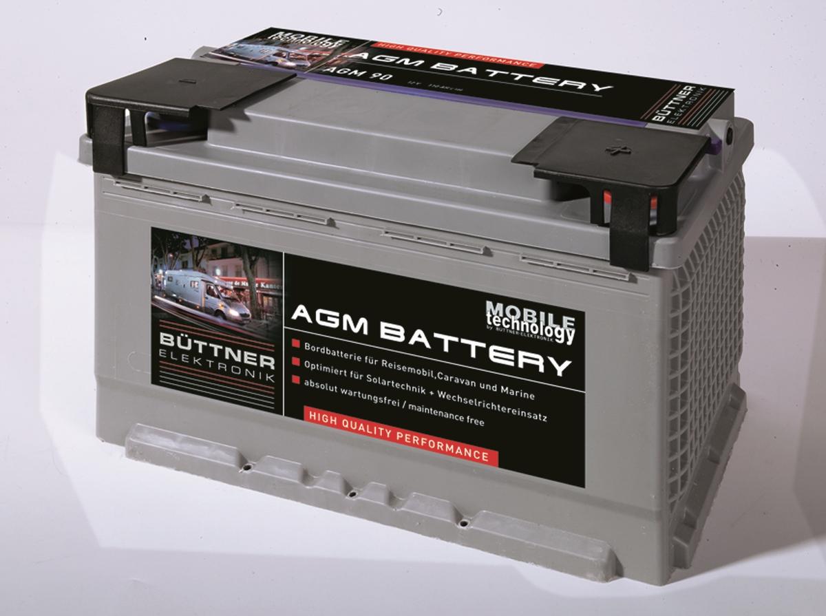 Büttner MT-AGM-Batterie