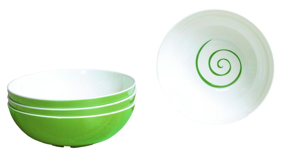 Gimex Müslischalenset TWIST grün 4 tlg