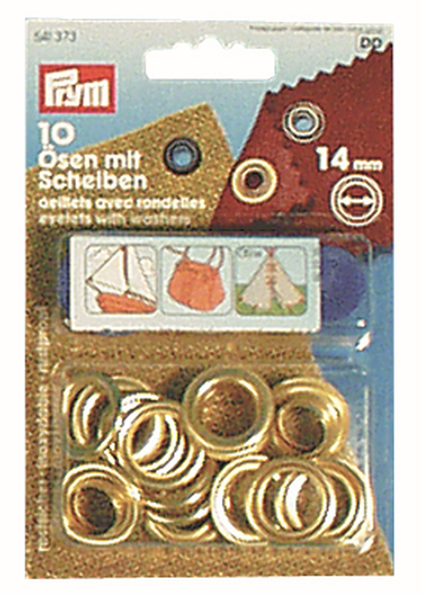 PRYM Nähfrei-Ösen 8 mm 24er Pack