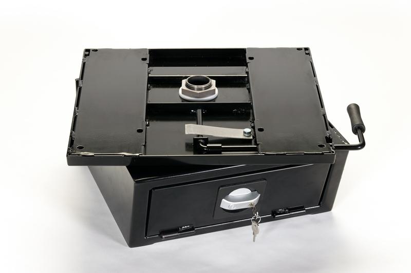 Drehkonsole für Originalsitz VW T4 ab 02/96 mit Safe