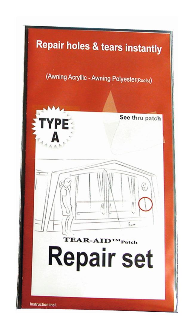 TEAR AID Zelt Reparaturset - Acryl und Polyester