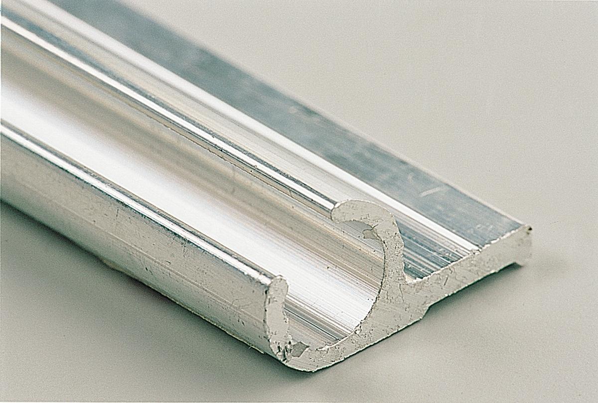 Aluminium-Profil 28 x 13 mm Länge 500 cm