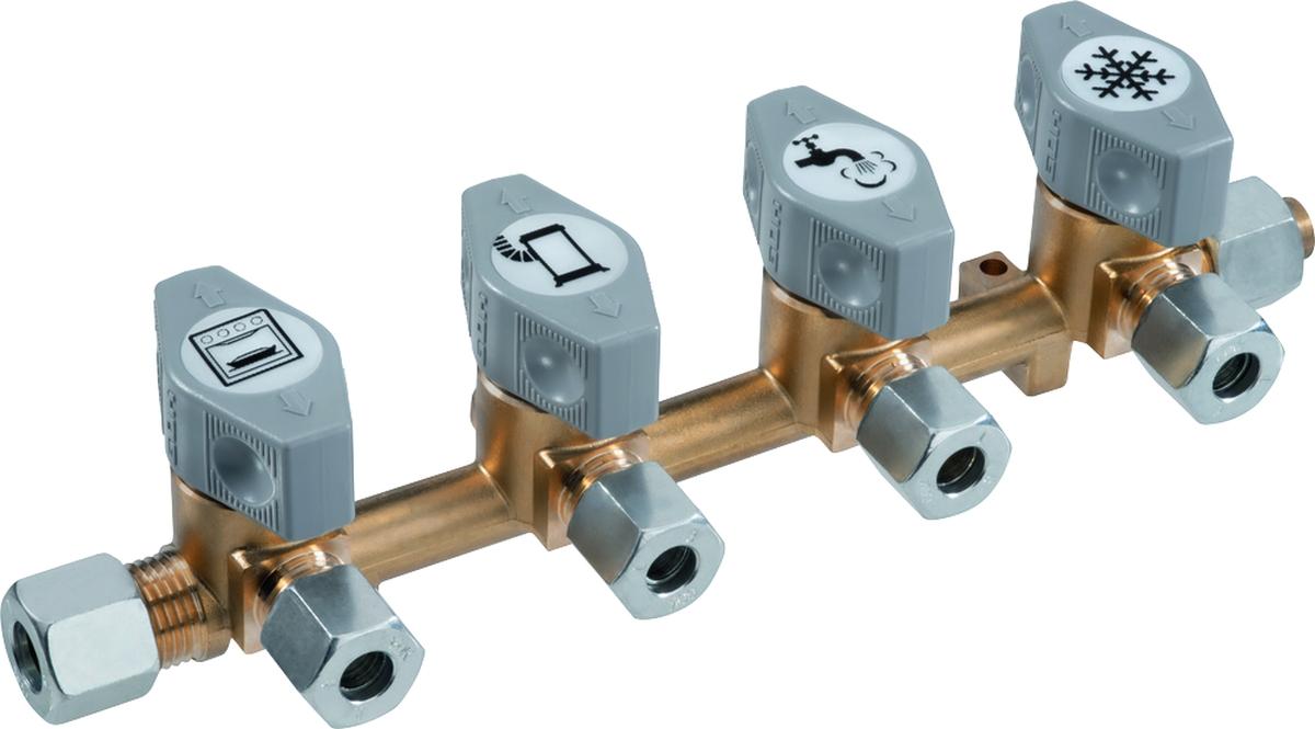 GOK Verteilerblock Typ DSV-AB4 10mm