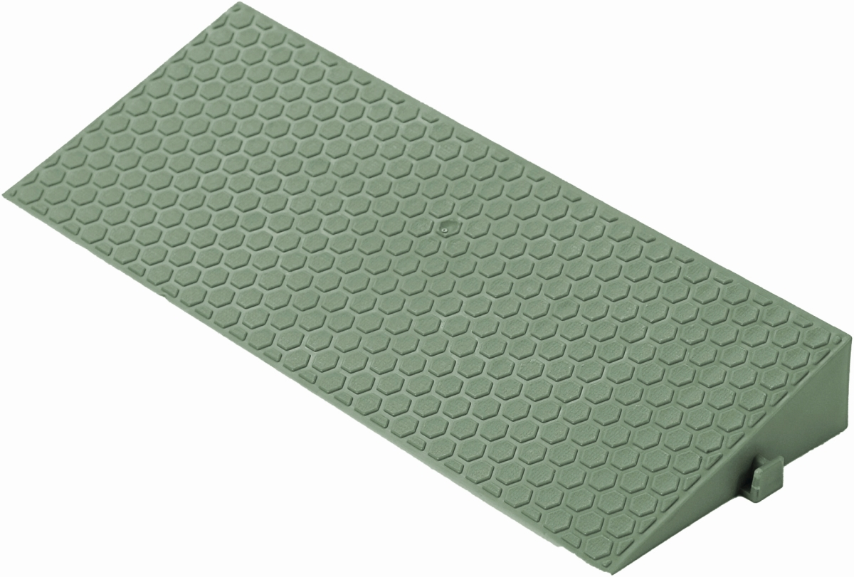 Abschlussrampe DECK-RAMP 38,5x15 cm grün