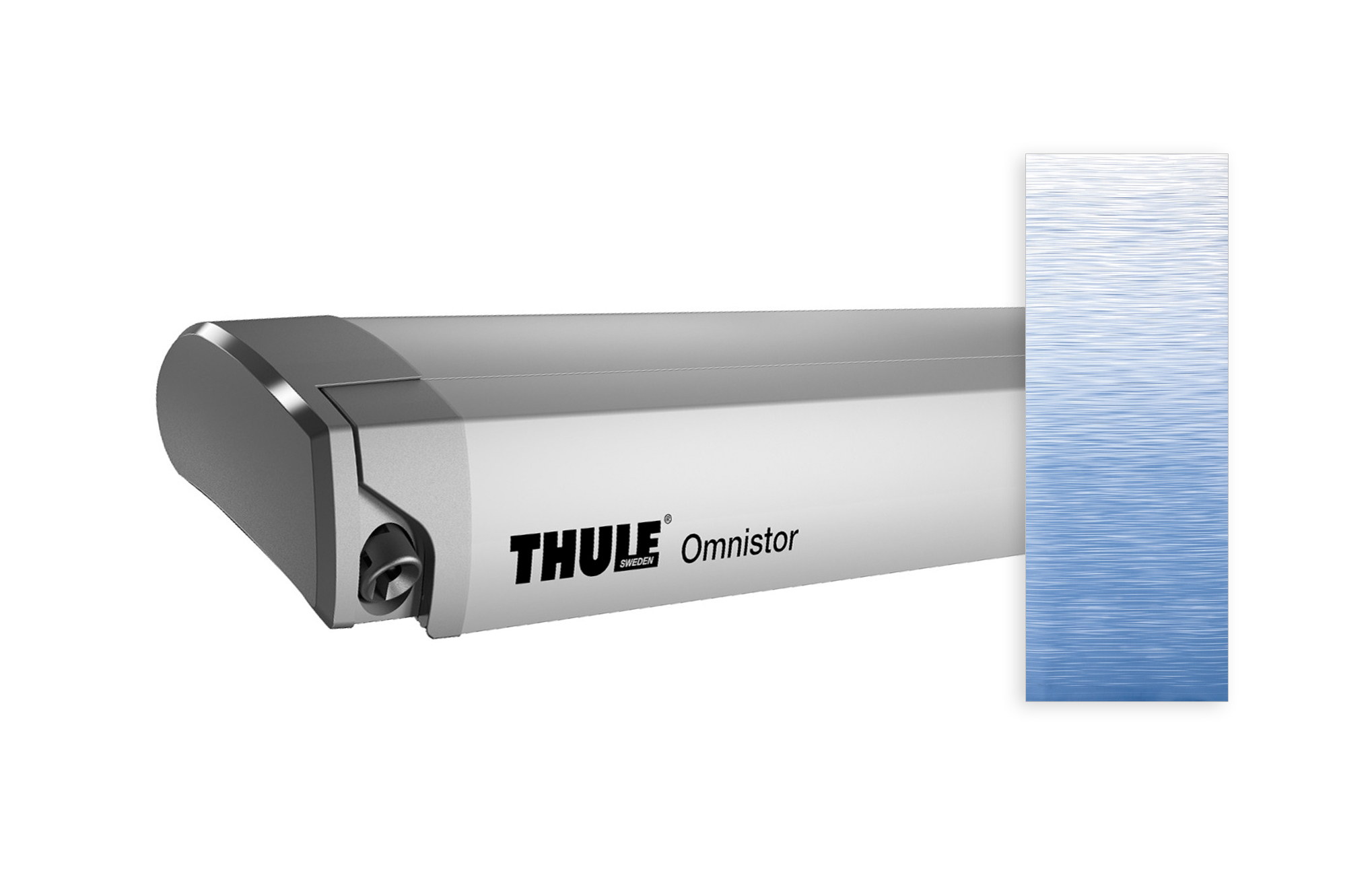 Thule Omnistor 9200 eloxiert 550x300 cm, Saphir Blau