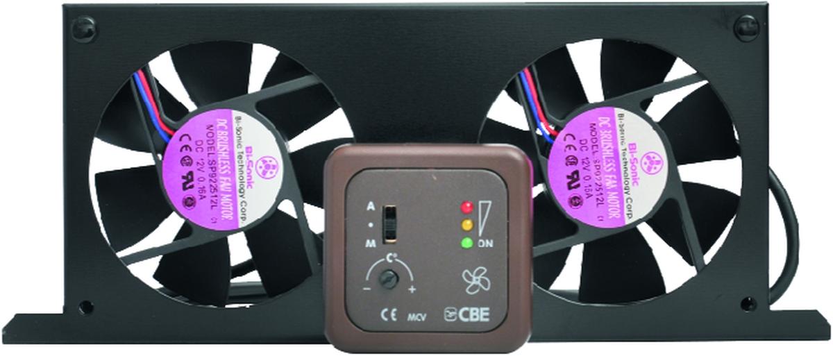 Kühlschranklüfter mit Anzeigepanel MCV-2