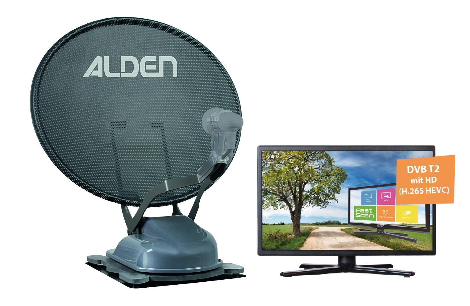 """ALDEN Onelight 60 PL EVO A.I.O. mit 22"""" TV grau"""