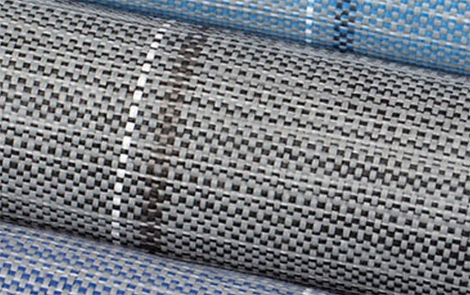 Zeltteppich EXCLUSIVE anthrazit 250x600 cm