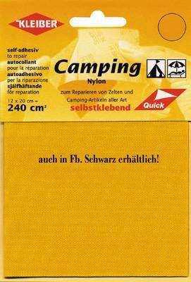 KLEIBER Camping-Nylon-Reparatur schwarz