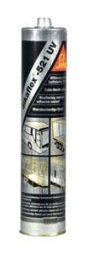 Sikaflex 521 UV schwarz, 300 ml