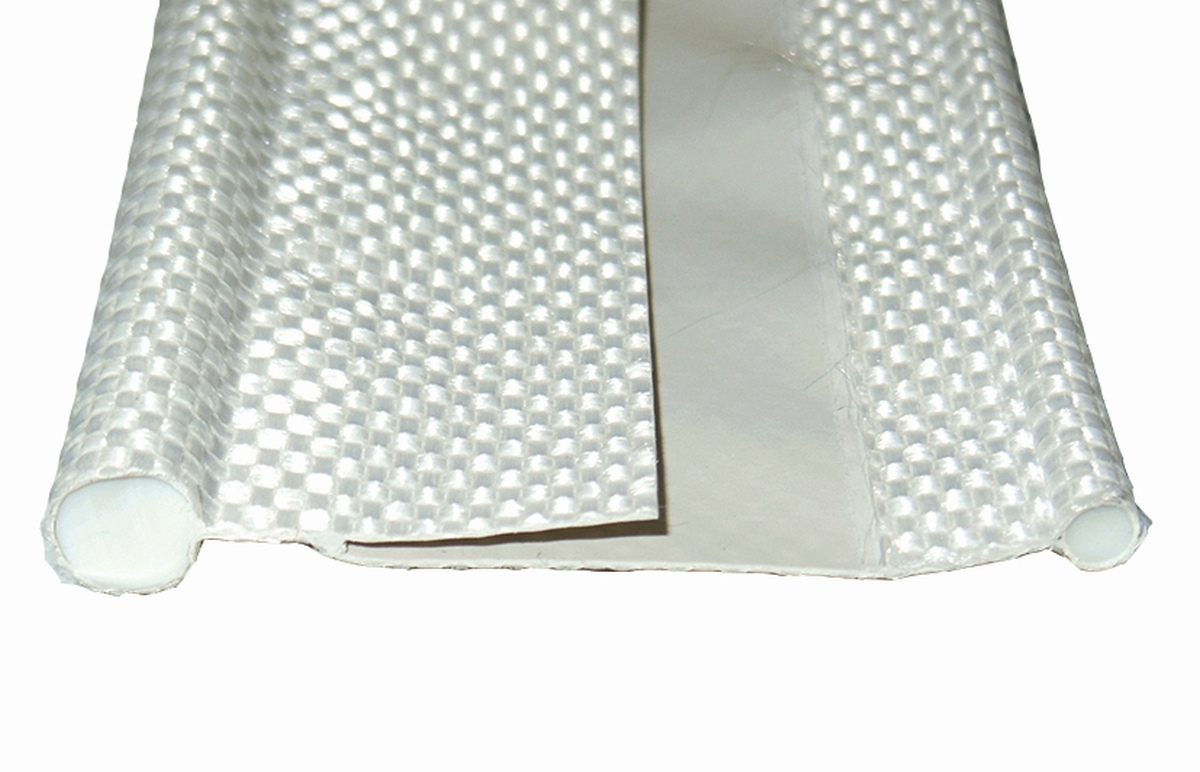 Doppelkeder 7x3,5 mm weiß 6 m