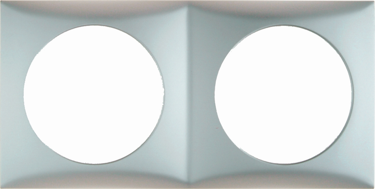 Berker Rahmen 2-fach INTEGRO chrom