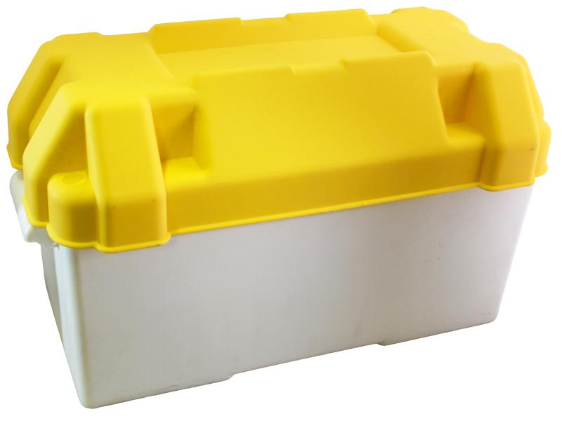 Batteriekasten gelb