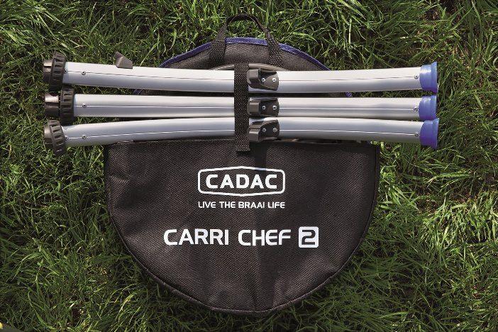 Cadac CARRI CHEF 2 BBQ/Grill2Braai 30 mbar