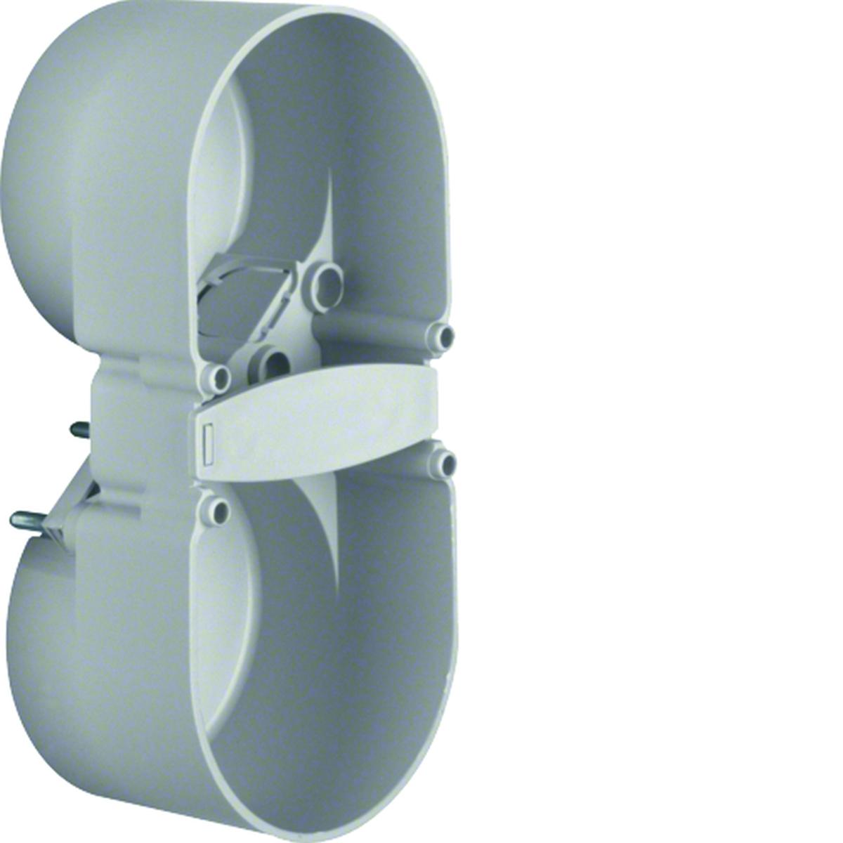 Berker Berührungsschutzdose 2-fach mit Zugentlastung
