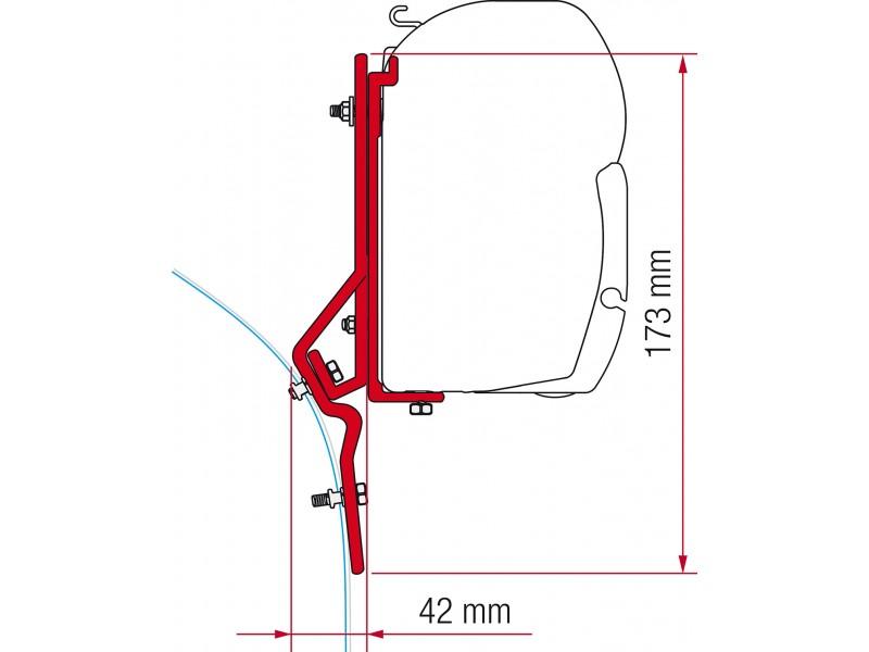 Fiamma Fiat Ducato Renault Master Adaper Kit