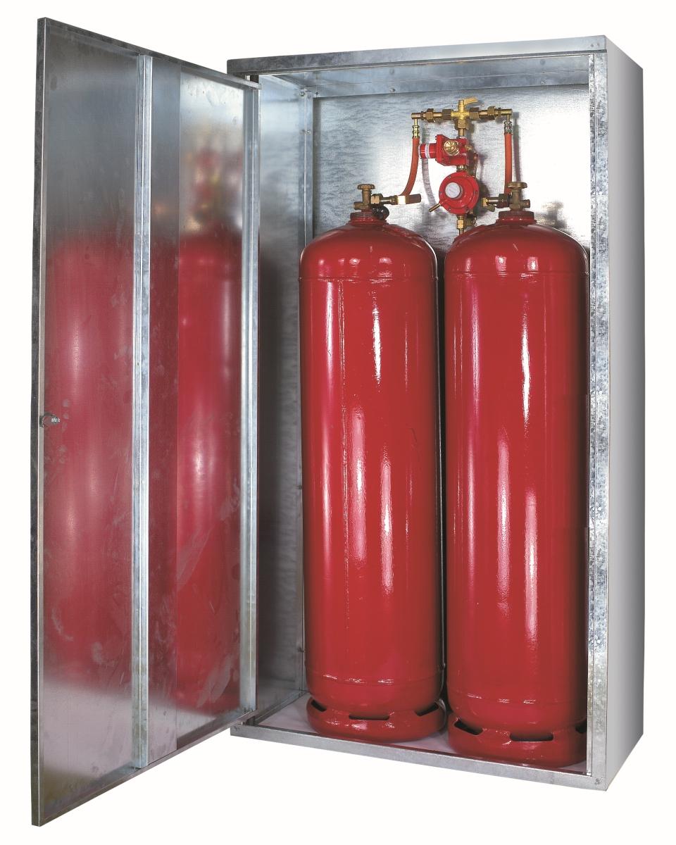 Gasflaschen-Schrank Gr. 2