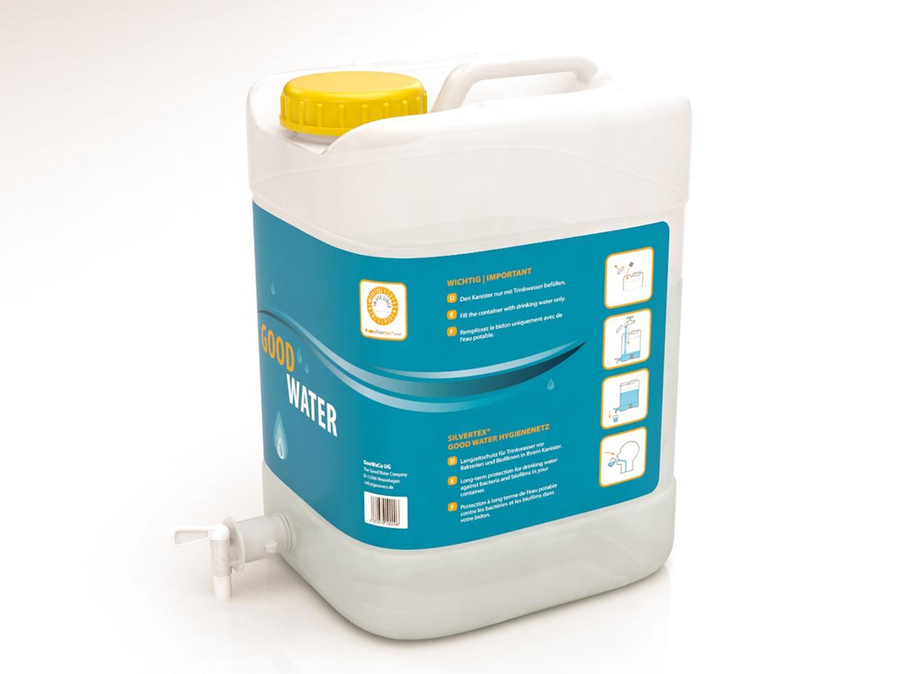 Silvertex Good Water Kanister mit Keimschutz