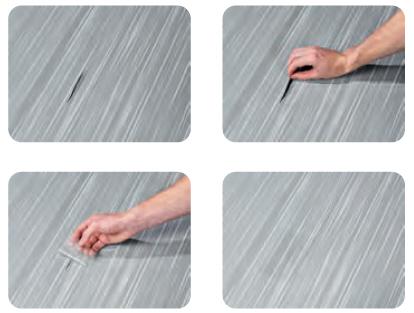 Thule Repair Patch Reparatur-Klebestreifen