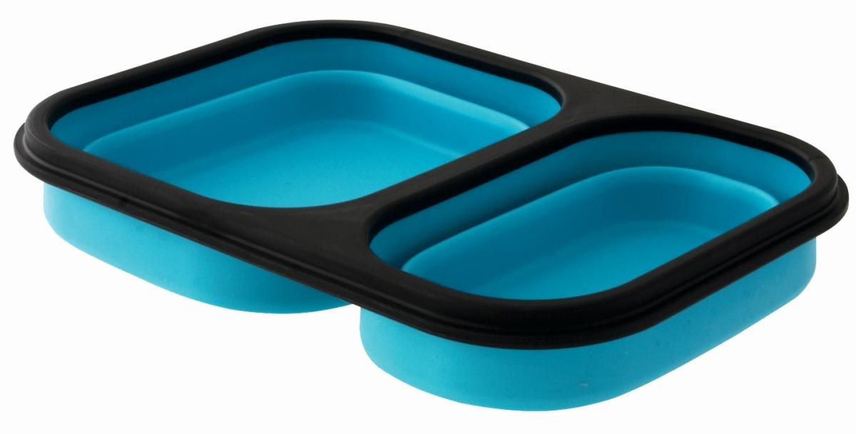 EuroTrail Faltbare Lunchbox M blau