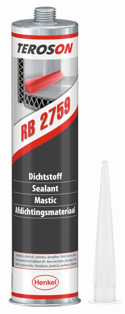 Henkel TEROSON RB 2759 Kartusche grau, 310 ml