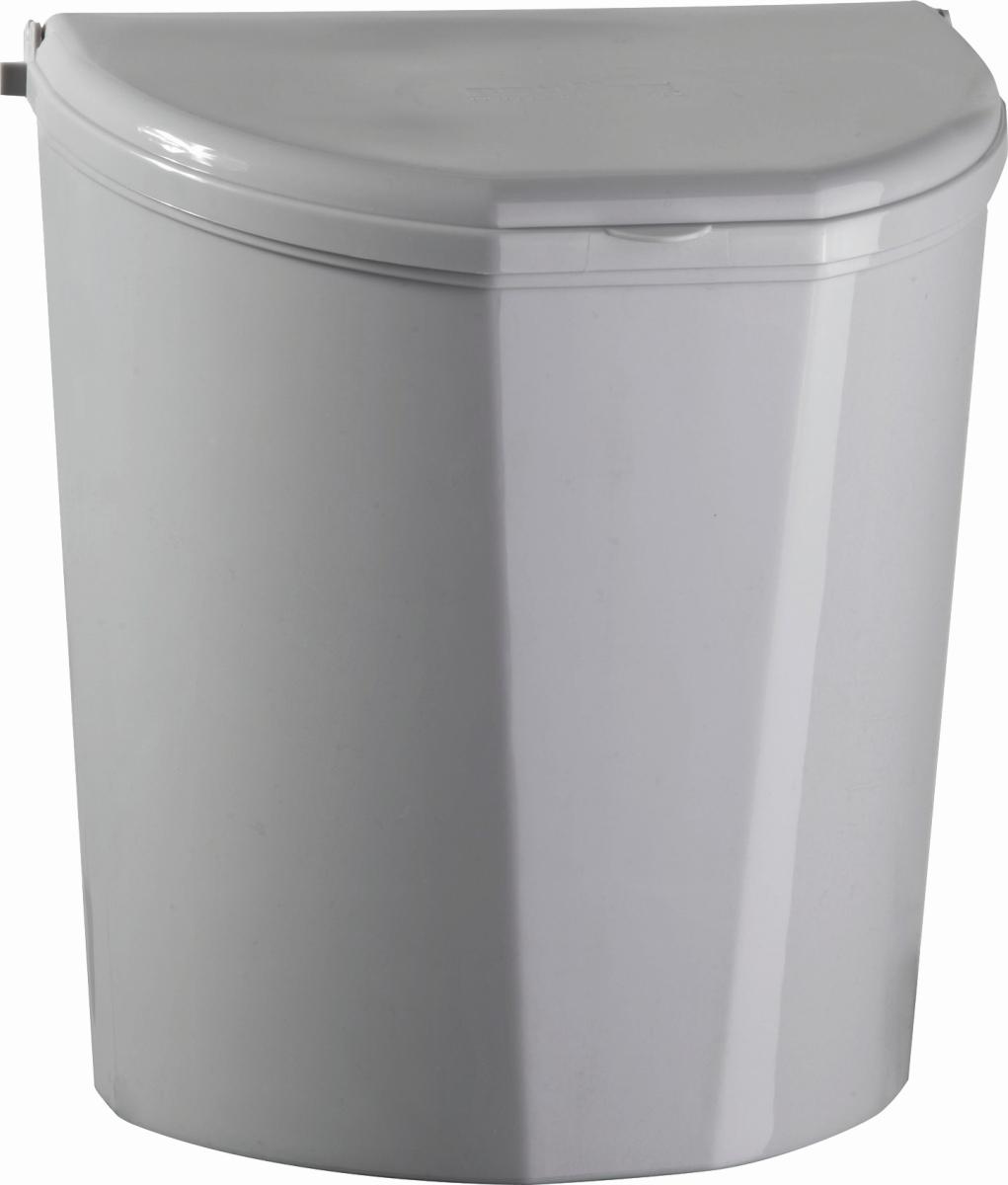 Brunner Abfallbehälter PILLAR XL grau