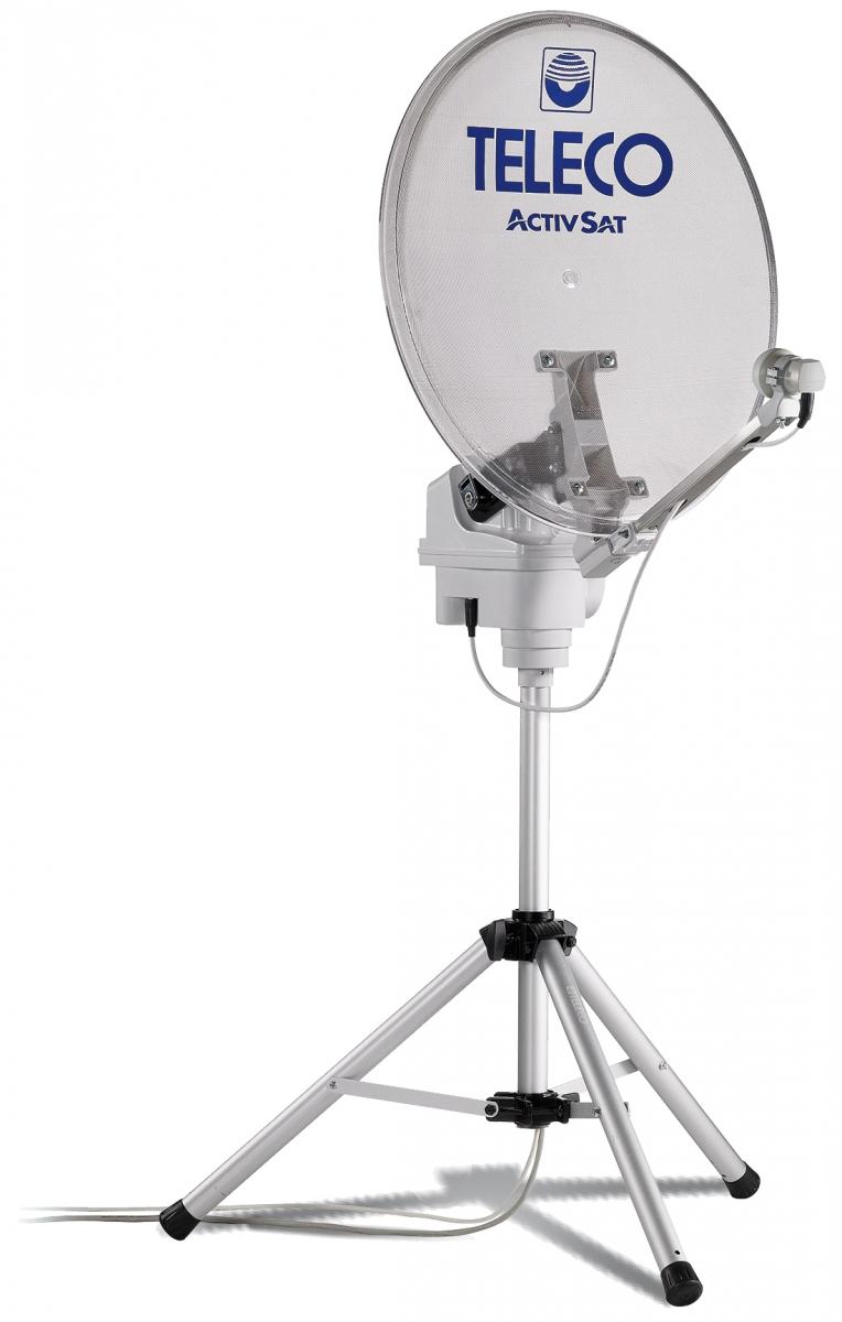 TELECO Antenne ActivSat 65T Twin