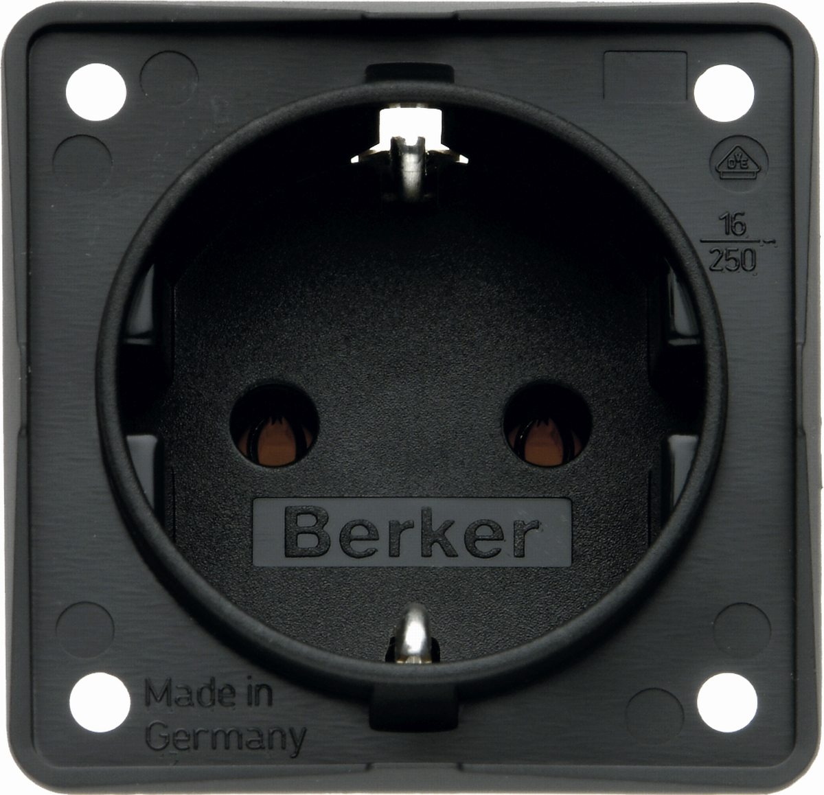 Berker Steckdose INTEGRO 230 V anthrazit